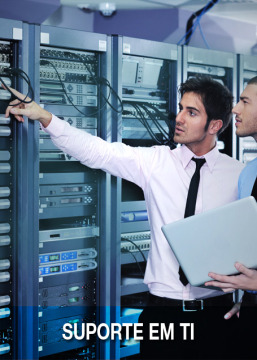 Suporte em TI: As informações da sua empresa seguras a todo o momento.